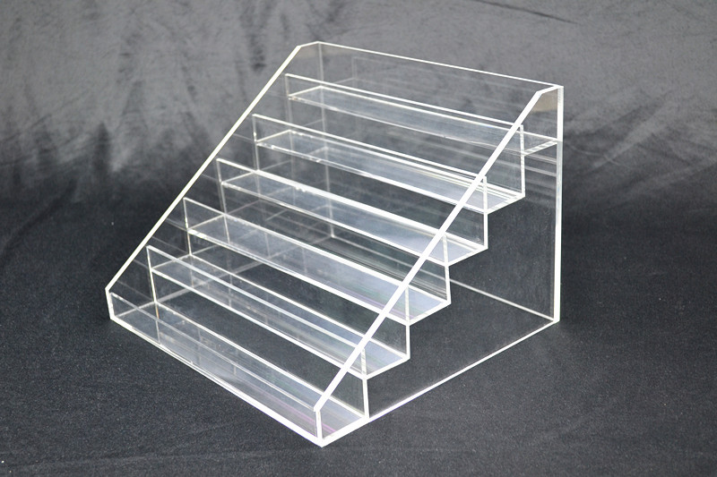 Nail Polish Display 5mm Acrylic Stand 6 Tier Holds 48-54  Z2342