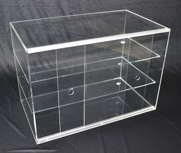 Large Cake Bakery Muffin Donut Pastry 5mm Acrylic Display Cabinet  Z2345