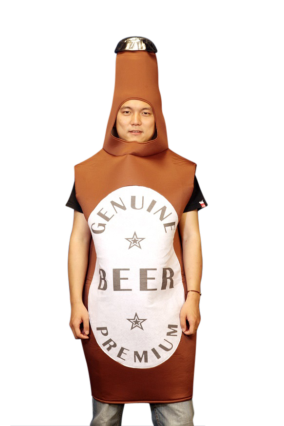 Beer Bottle One Size Fits all Adults Costume  Z2351