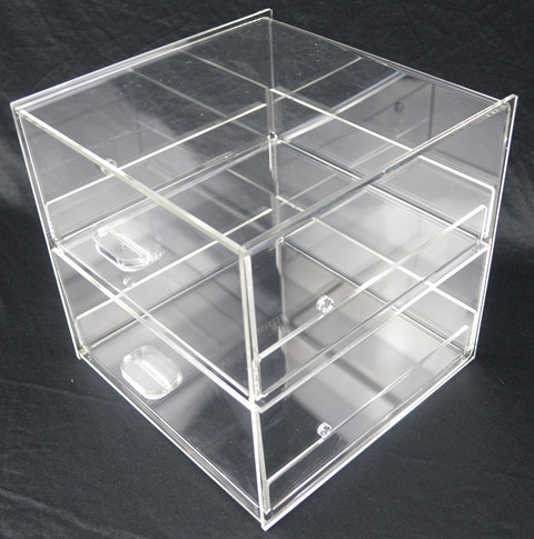 Cake Bakery Muffin Donut Pastry 5mm Acrylic Display Cabinet  Z2415
