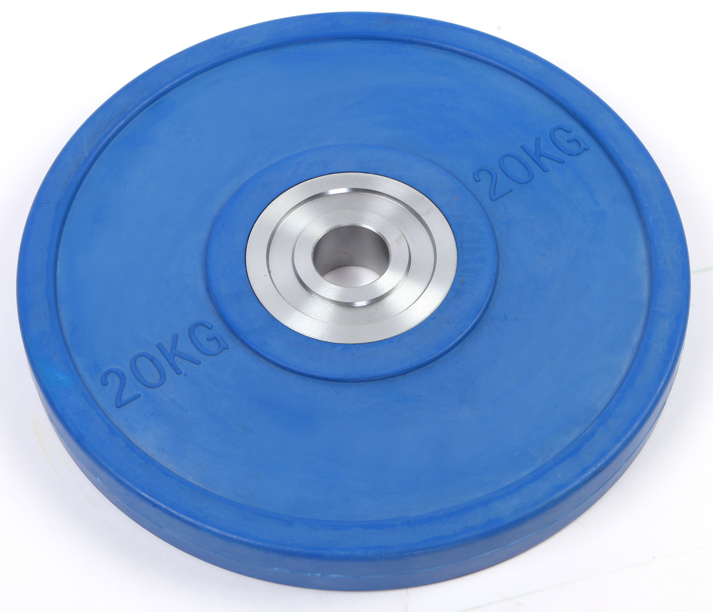 20KG PRO Olympic Rubber Bumper Weight Plate  Z2419
