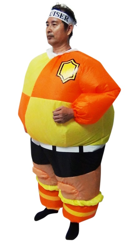 FOOTBALL Fancy Dress Inflatable Suit -Fan Operated Costume  Z2439