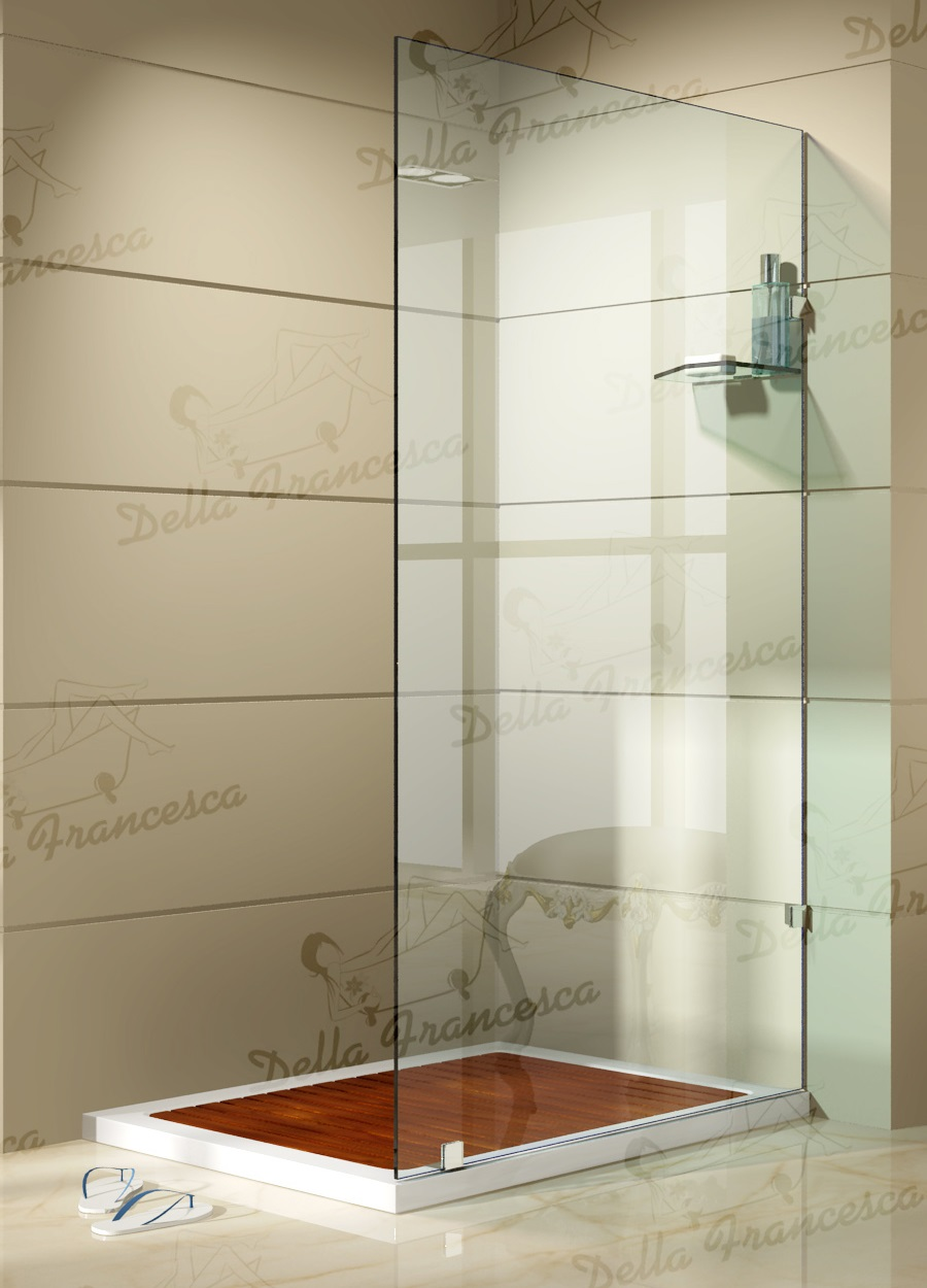 1200x900mm Walk In Wetroom Shower System By Della Francesca  Z2443