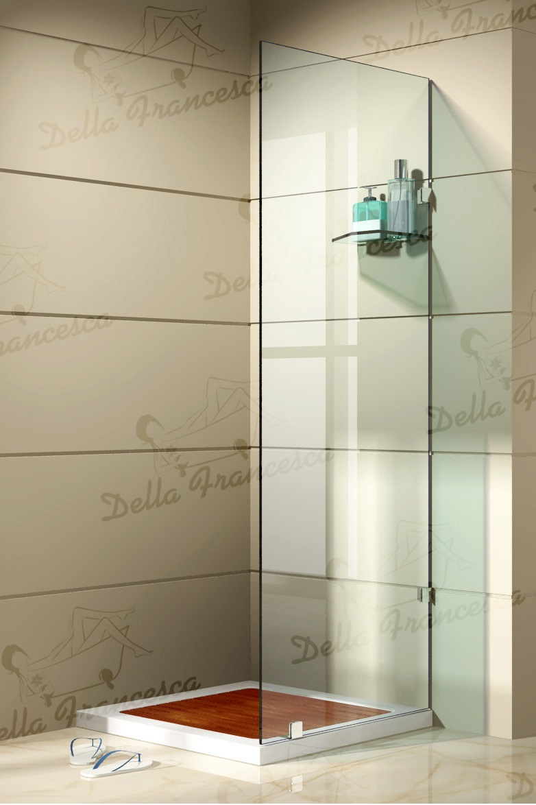 1000x1000mm Walk In Wetroom Shower System By Della Francesca  Z2444