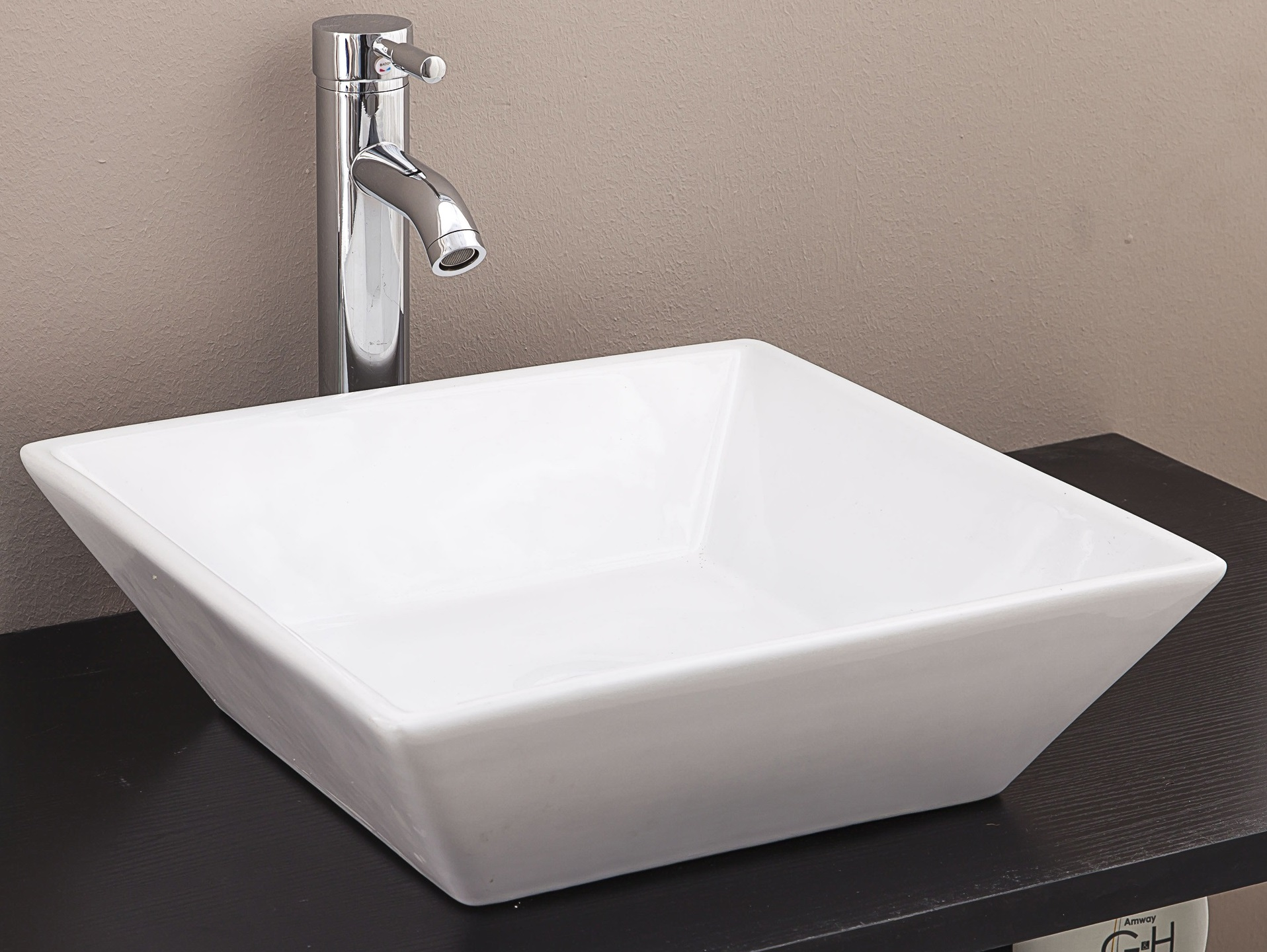Bathroom Ceramic Rectangular Above Countertop Basin for Vanity  Z2469