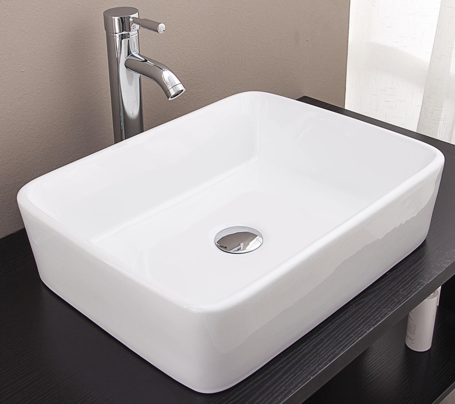 Above Counter Bathroom Vanity Square Basin  Z2473