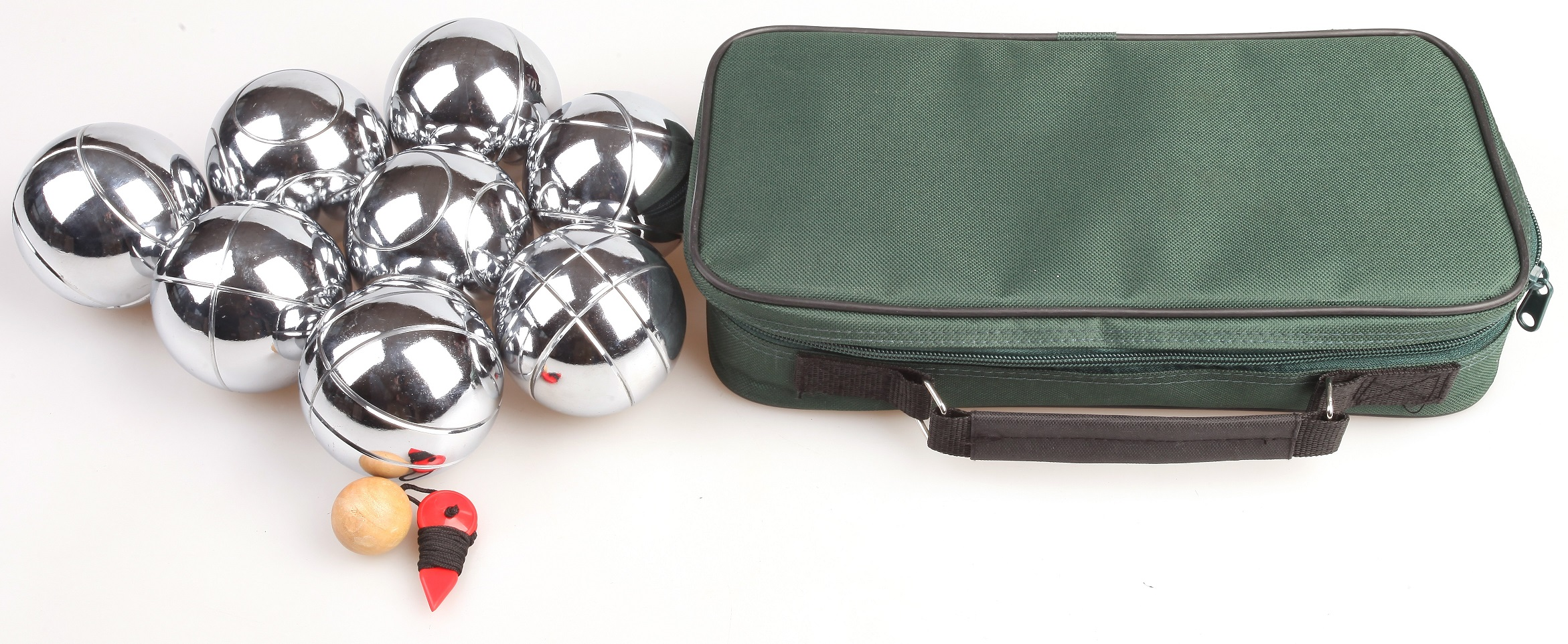Deluxe Boules Bocce 8 Alloy Ball Set  Z2508