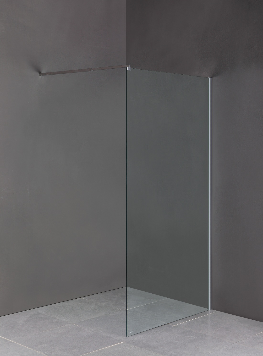 1000 x 2000mm Frameless 10mm Safety Glass Shower Screen  Z2537