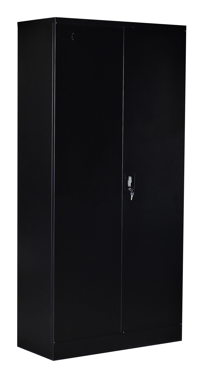 Two-Door Shelf Office Gym Filing Storage Locker Cabinet Safe  Z2541