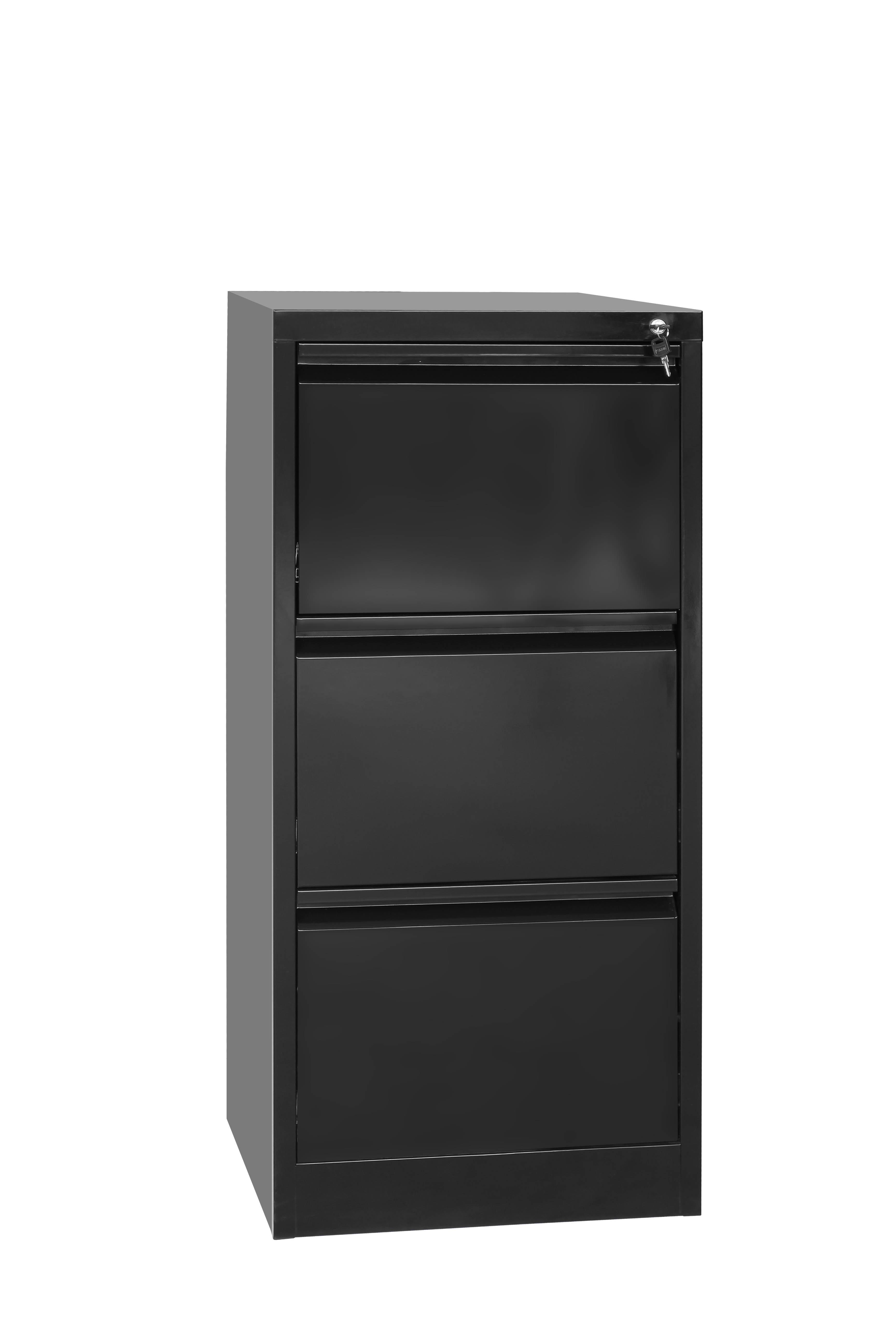 3-Drawer Shelf Office Gym Filing Storage Locker Cabinet  Z2543