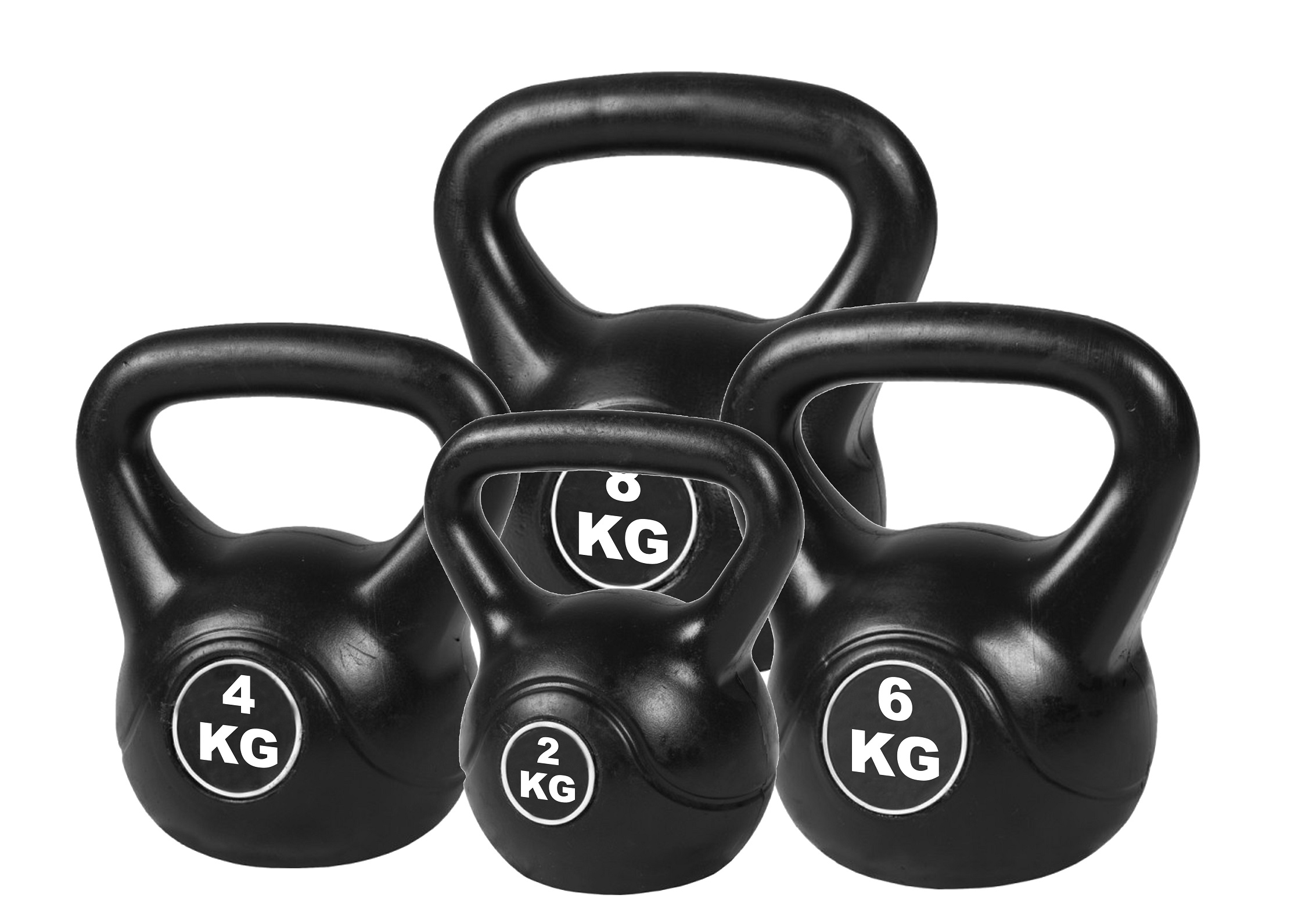 4pcs Exercise Kettle Bell Weight Set 20KG  Z2563