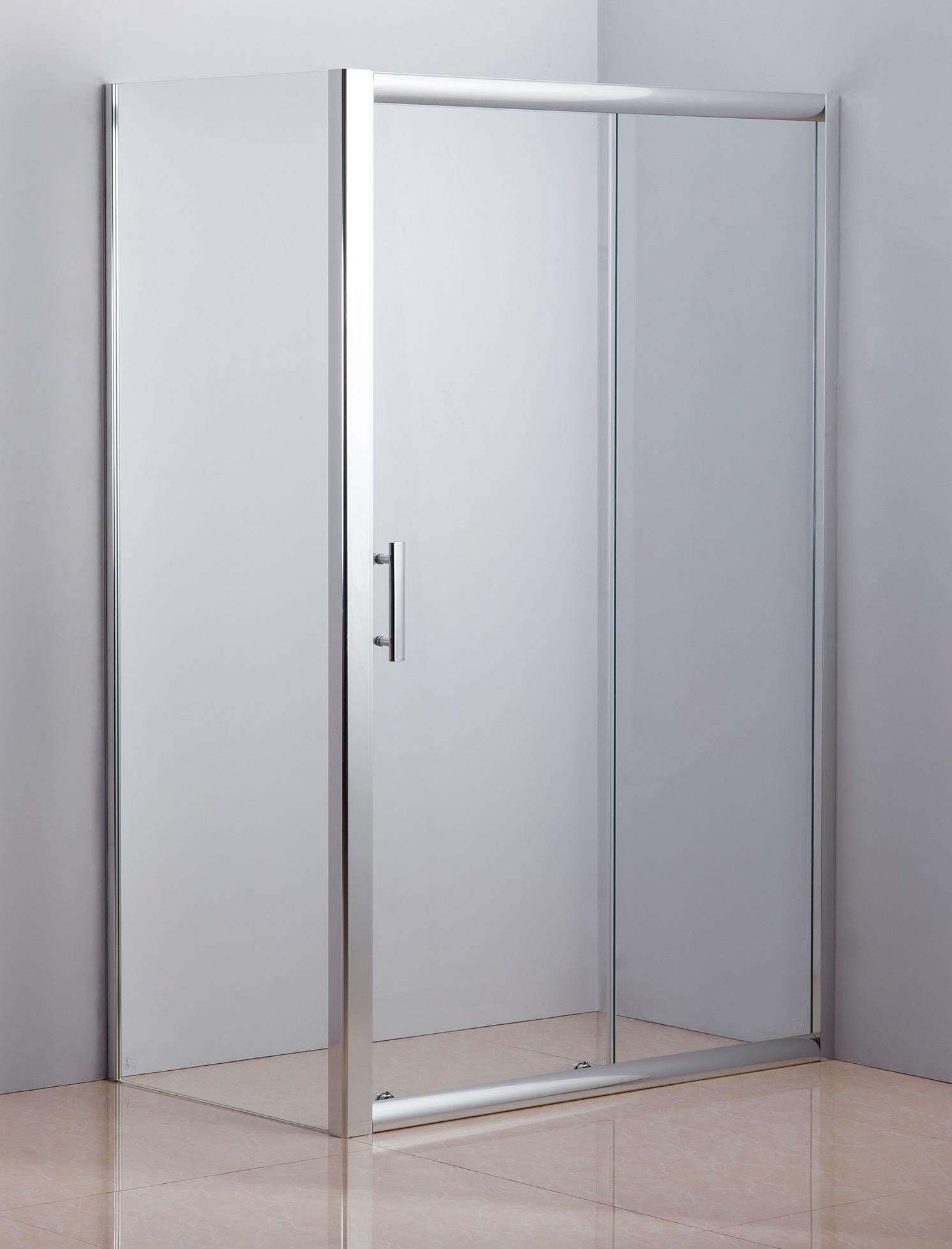 1200 X 700 Sliding Door Safety Glass Shower Screen By Della Francesca  Z2585