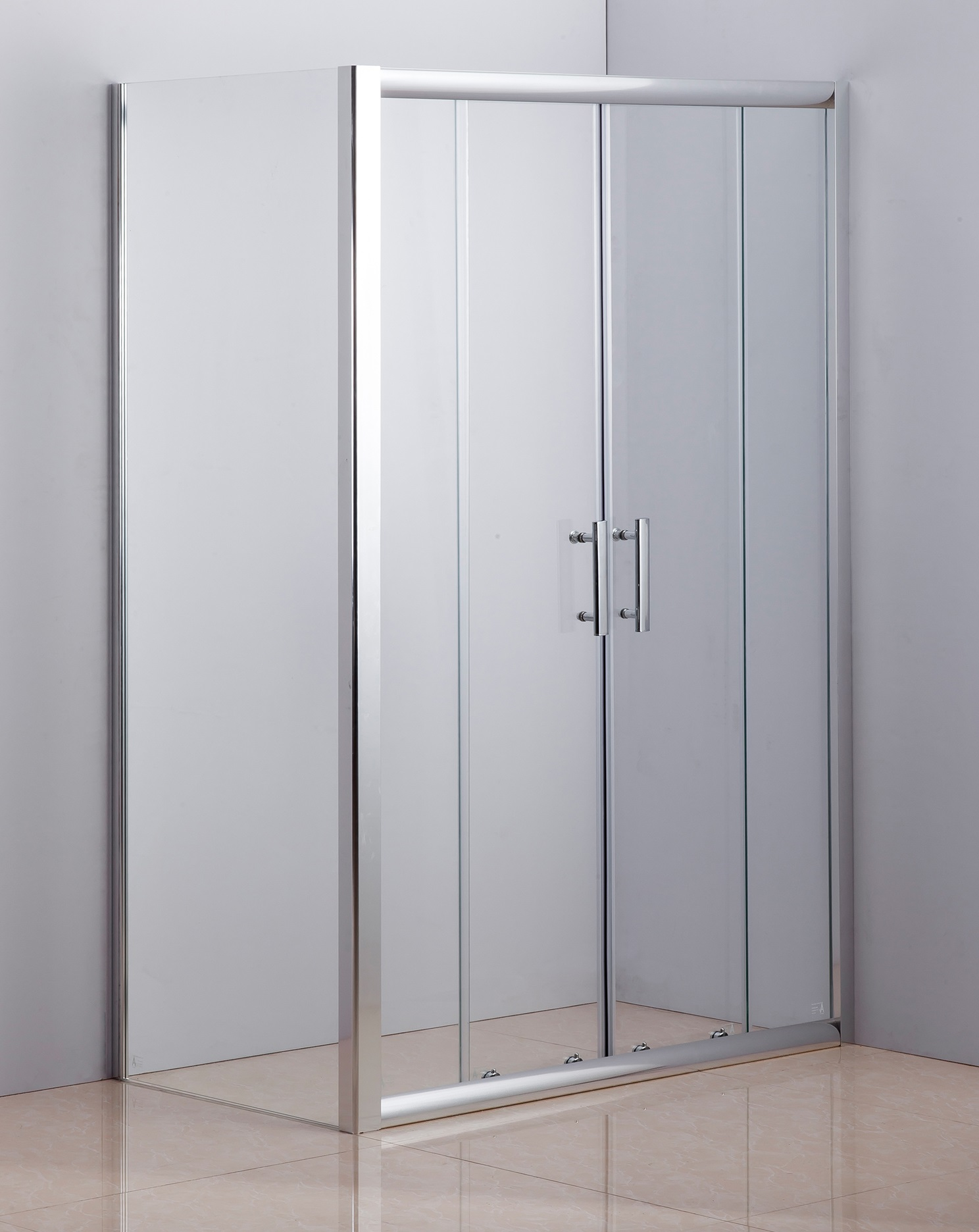 1200 X 700 Sliding Door Safety Glass Shower Screen By Della Francesca  Z2586