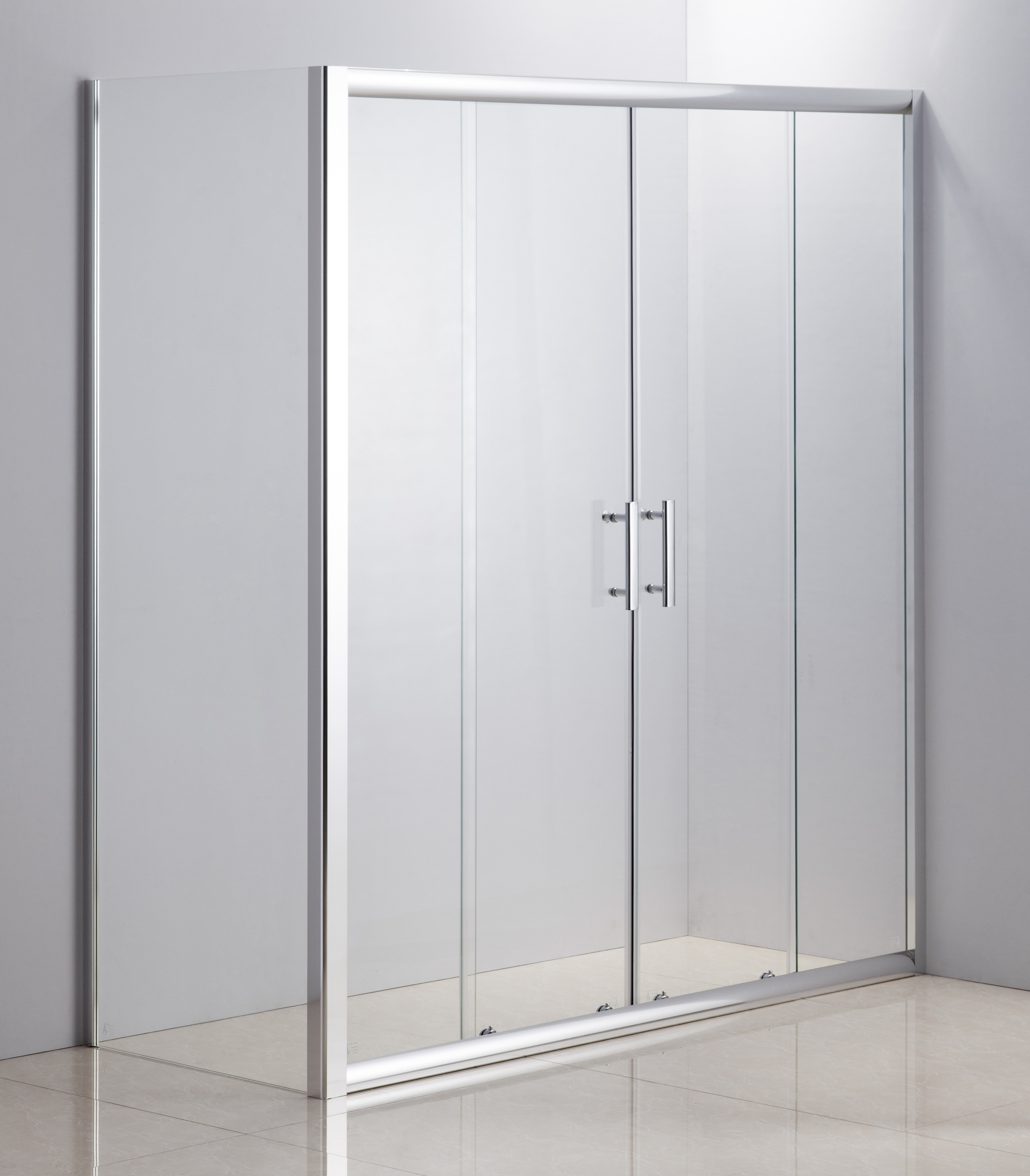 1700 X 700 Sliding Door Safety Glass Shower Screen By Della Francesca  Z2587