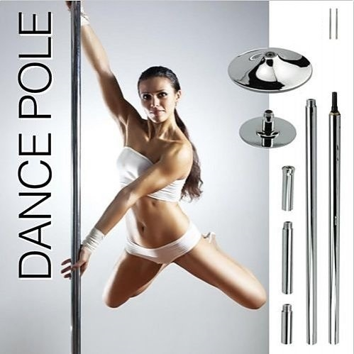 Portable Dance Pole Dancing Spinning Home Gym Fitness  Z2605
