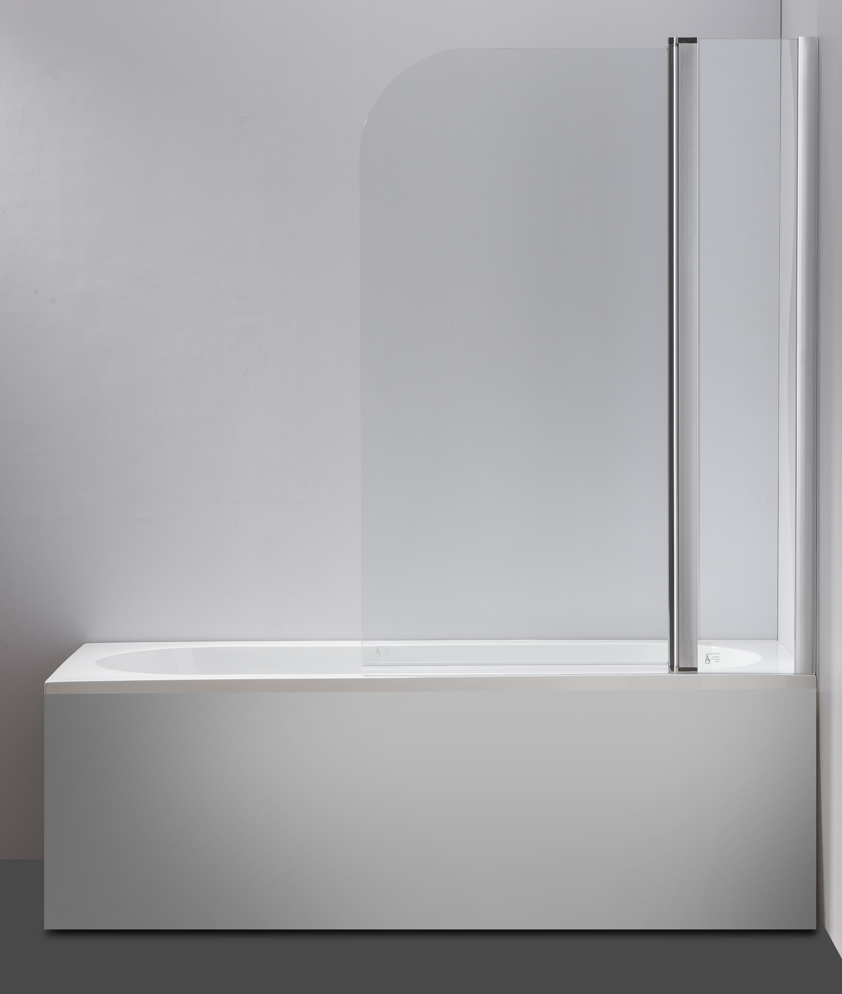 180° Pivot Door 6mm Safety Glass Bath Shower Screen 1000x1400mm By Della Francesca  Z2677