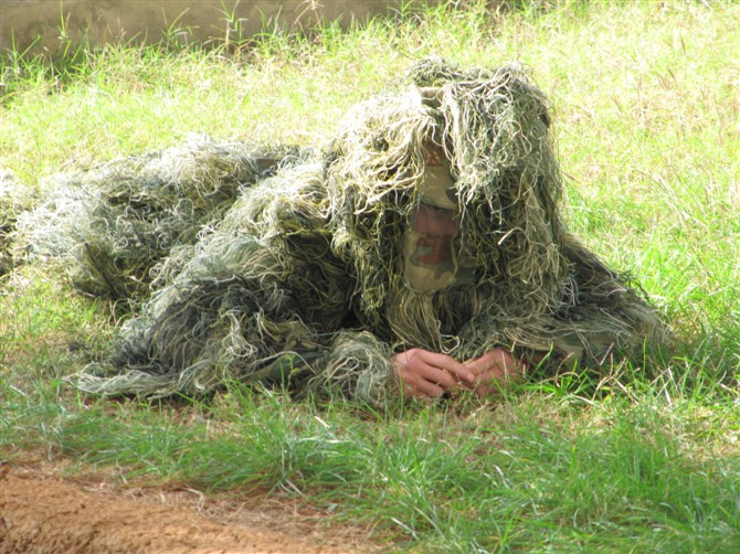Ghillie Suit Hunting Sniper Paintball Camo Costume - Adult  Z2700