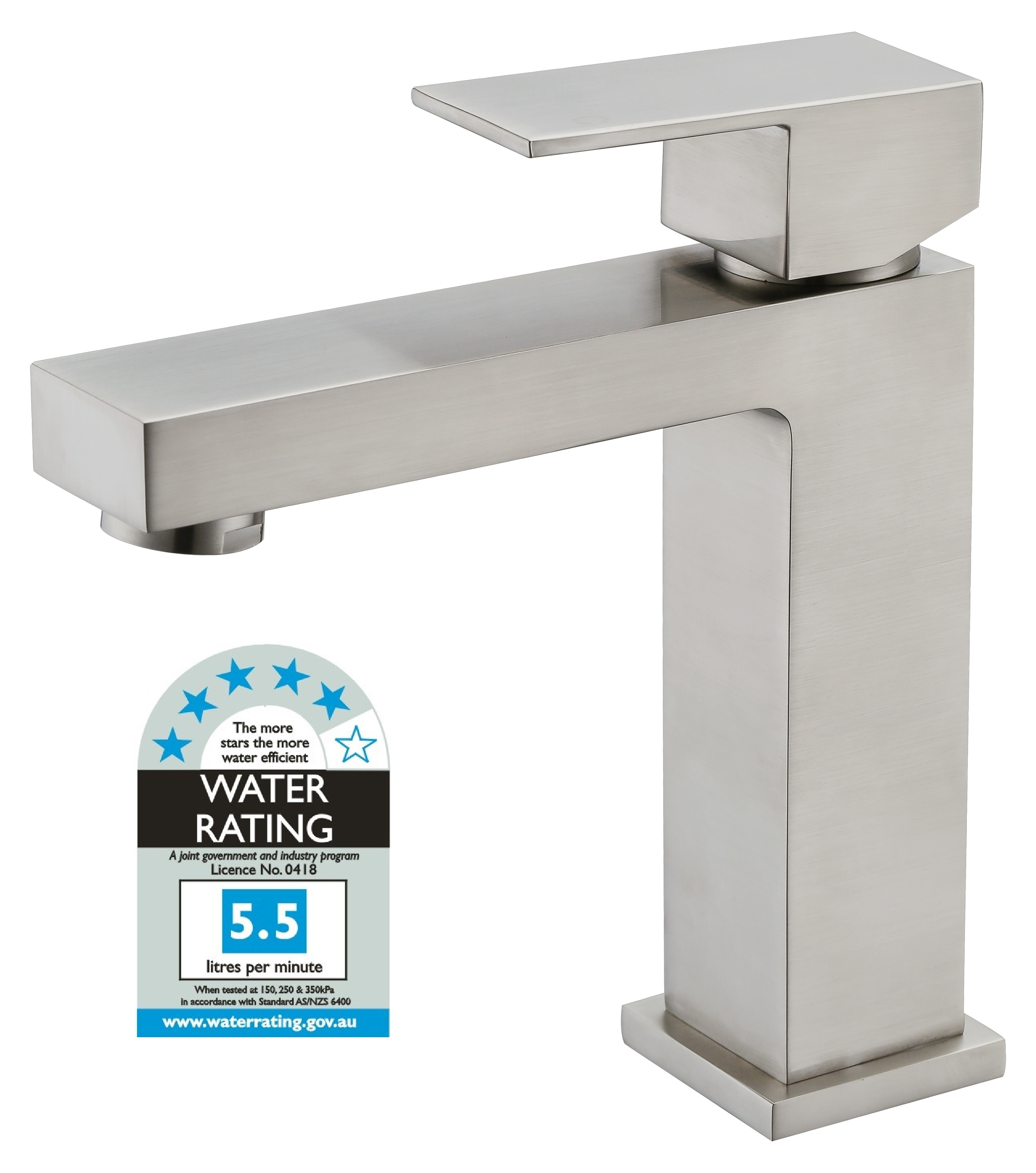 Basin Mixer Tap Faucet -Kitchen Laundry Bathroom Sink Brushed Finish  Z2703