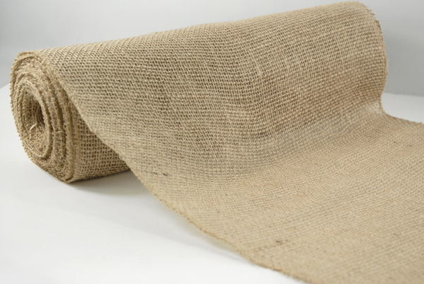 10m Hessian Burlap Roll Vintage Rustic Natural Wedding Table Runner Decorations  Z2713