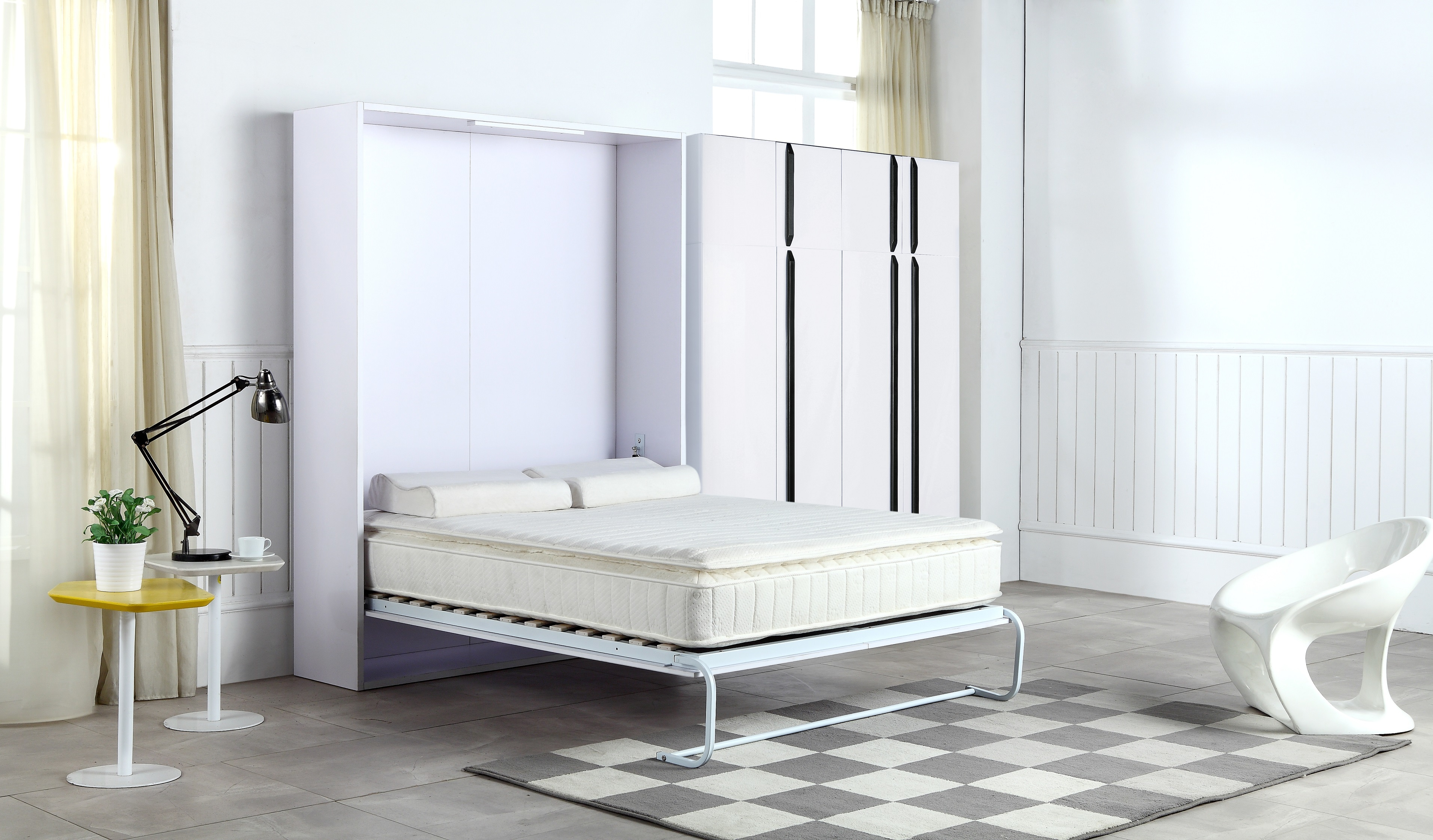 Palermo Double Size Wall Bed  Z2730