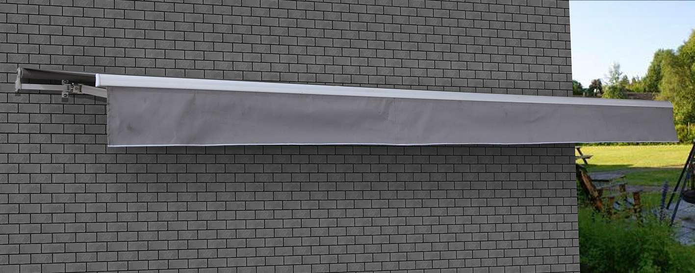 Motorised Folding Arm Awning - 3.5x2.5m  Z2733