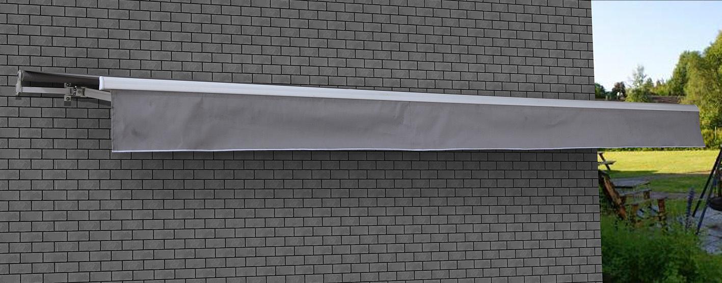 Motorised Folding Arm Awning - 5.0x2.5m  Z2735