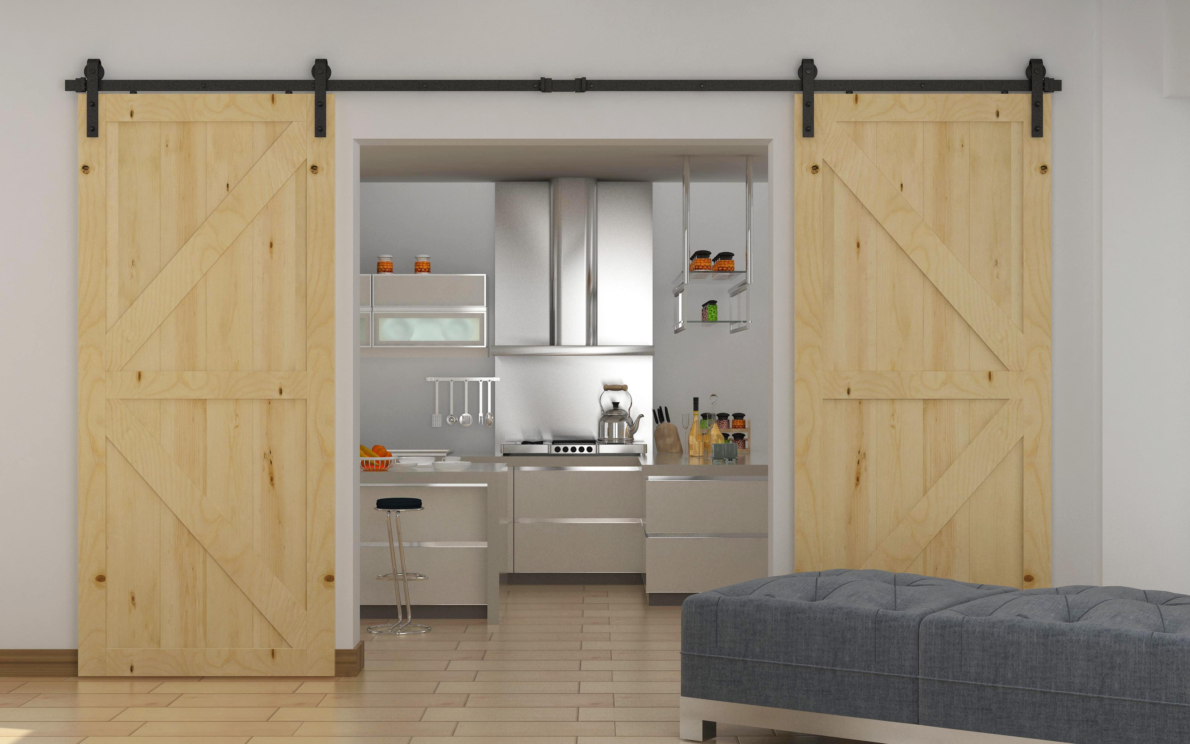 3.6m Sliding Barn Door Hardware  Z2752