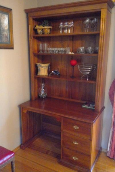 Blackwood wall unit, immaculate conditio
