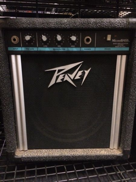 Peavey MicroBASS bass amplifier AN123896