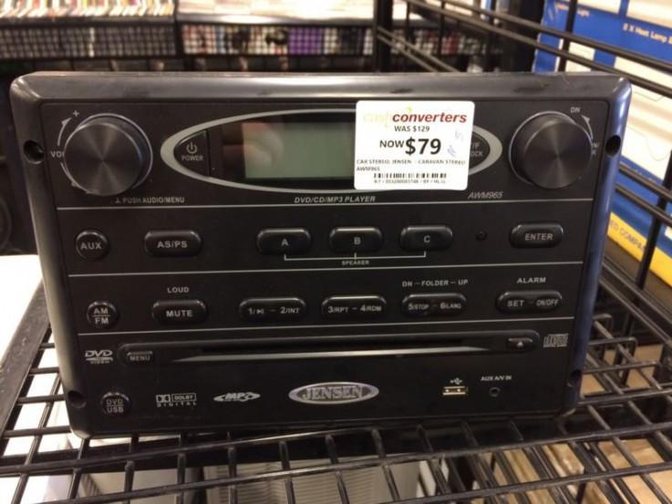 Jensen awm965 caravan stereo - cp83746