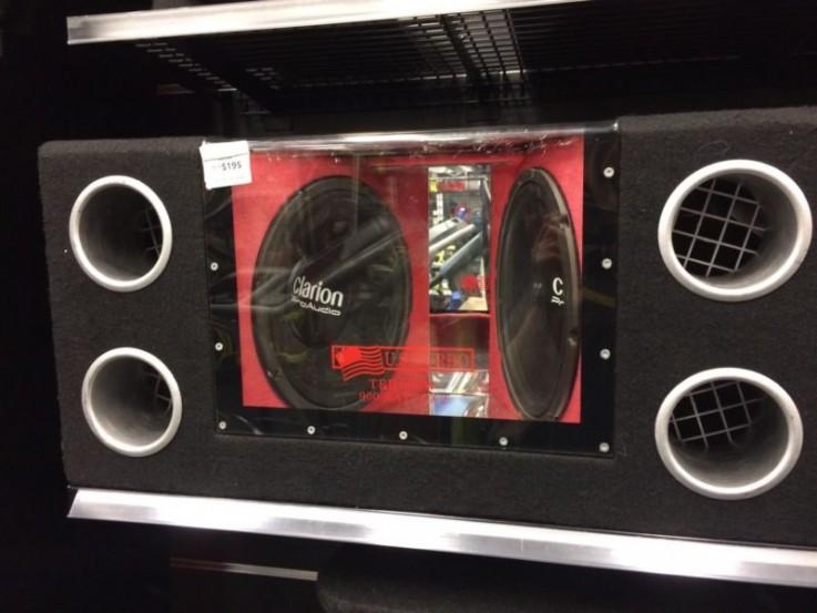 Clarion pro audio dual subwoofer - cp104