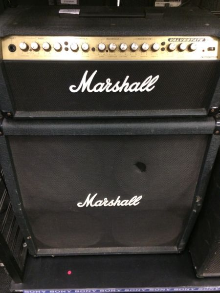 Marshall vs100 valvestate amp and cab -
