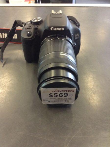 CANON EOS 600D BW:124409