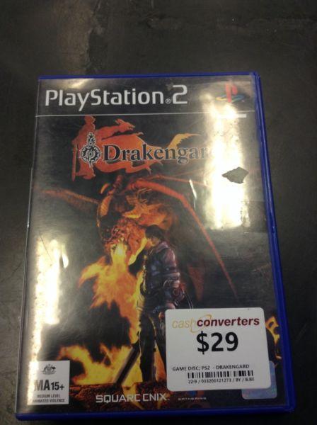PS2 DRAKENGARD BW:121273