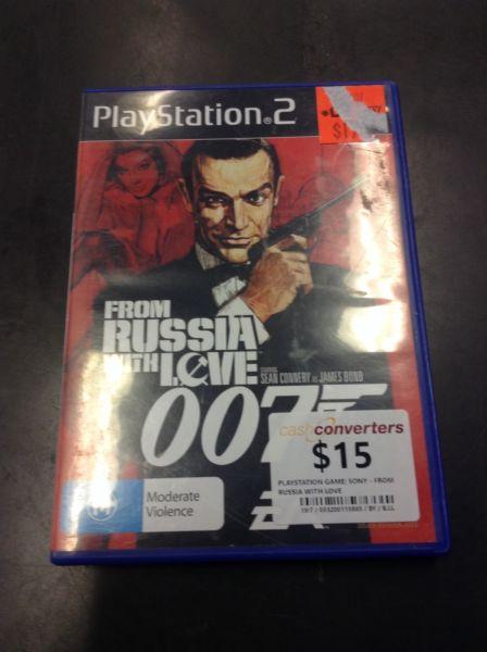 PS2 007 BW:115865