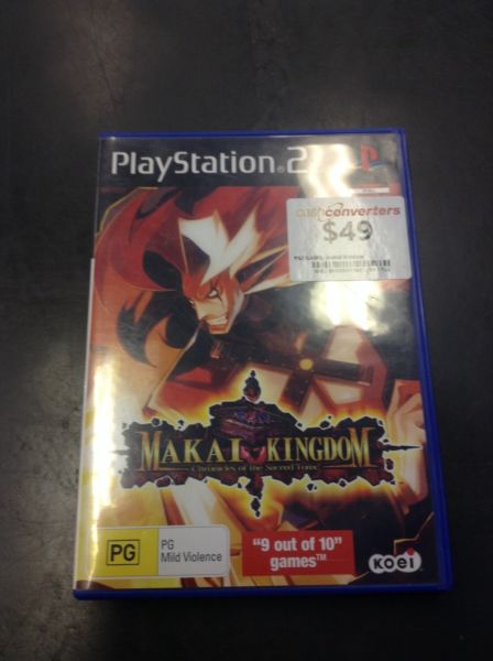 PS2 MAKAI KINGDOM BW:111687