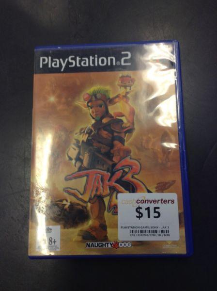 PS2 JAK 3 BW:121298