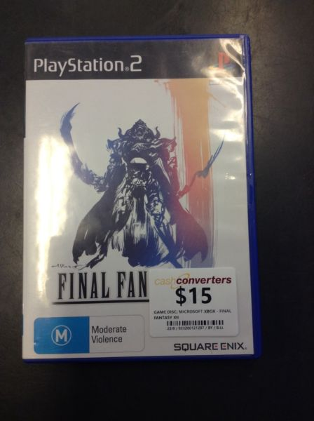 PS2 FINAL FANTASY XII BW:121287