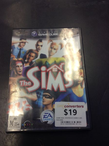 GAMECUBE - THE SIMS BW:93686