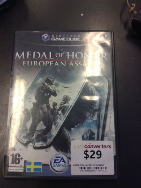 GAMECUBE - MEDAL OF HONOR BW:89221