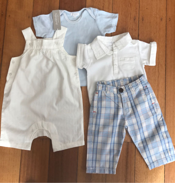 PUREBABY bulk lot size 3-6month (00) and