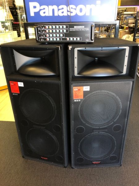 Monarch Speaker and Amp Set DK125714