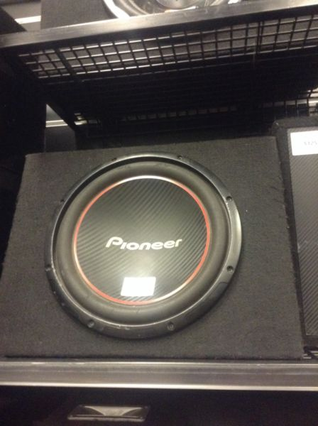 PIONEER SUBWOOFER BW:115160