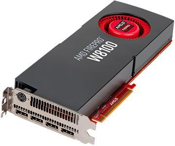 AMD FirePro W8100, 8GB