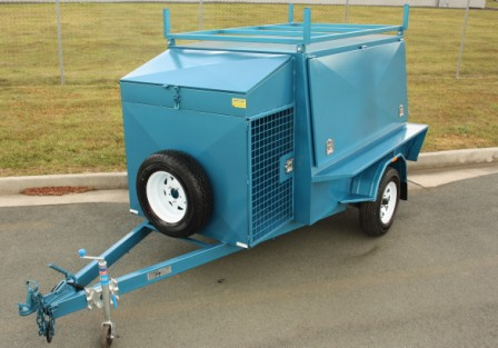 Tradesman trailer 7×5  with brakes
