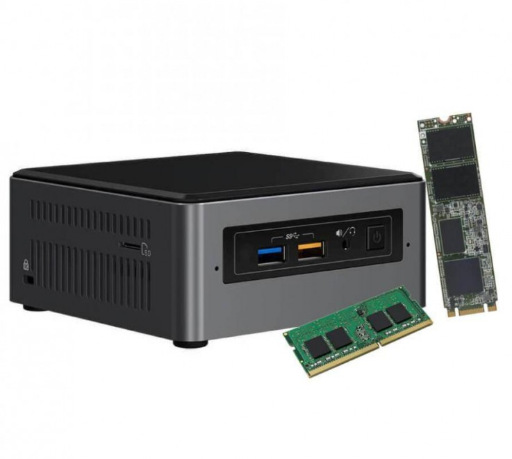 Intel Core i7 Mini PC NUC Kit NUC7I5BNH