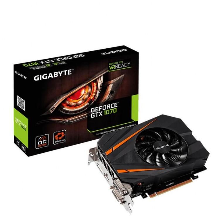 Gigabyte GeForce GTX 1070 Mini ITX OC, 8