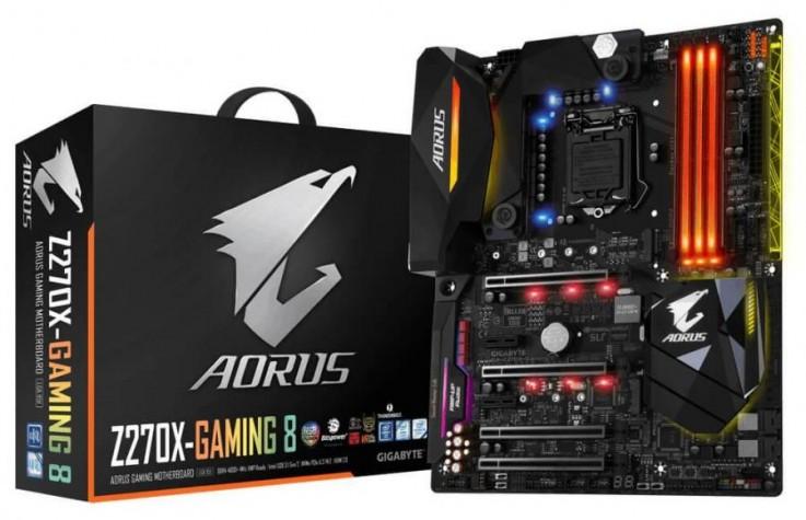 Gigabyte AORUS GA-Z270X-Gaming 8 Motherb
