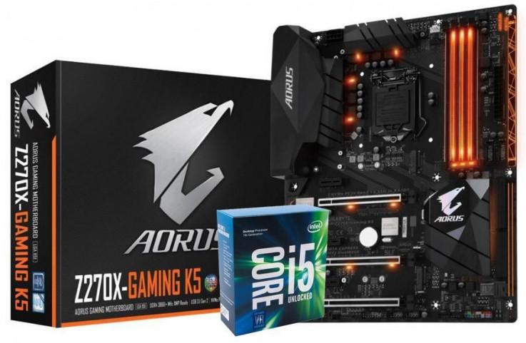 Gigabyte Z270X Gaming K5 Core i5 Bundle