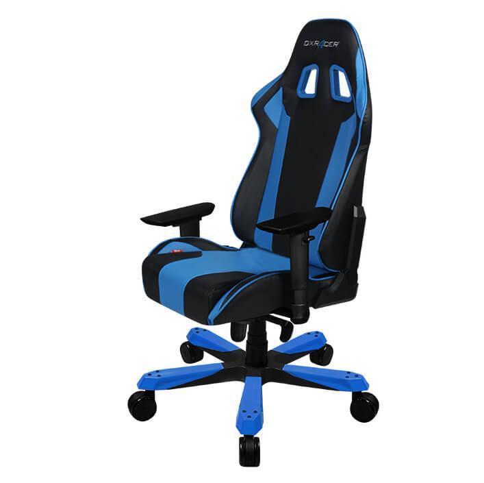 DXRacer King Series Black & Blue Office/